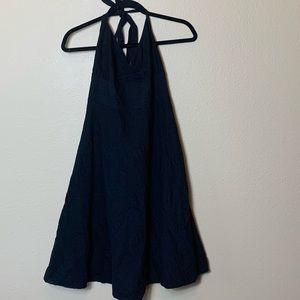 J. Crew Dress Size 10 Black Halter Neck